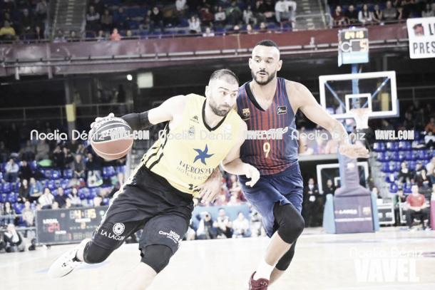 Vasileiadis sostuvo a los suyos al final. Foto: Noelia Déniz