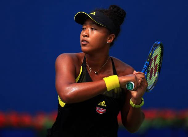 Naomi Osaka in action at the Rogers Cup (Getty/Vaughn Ridley)