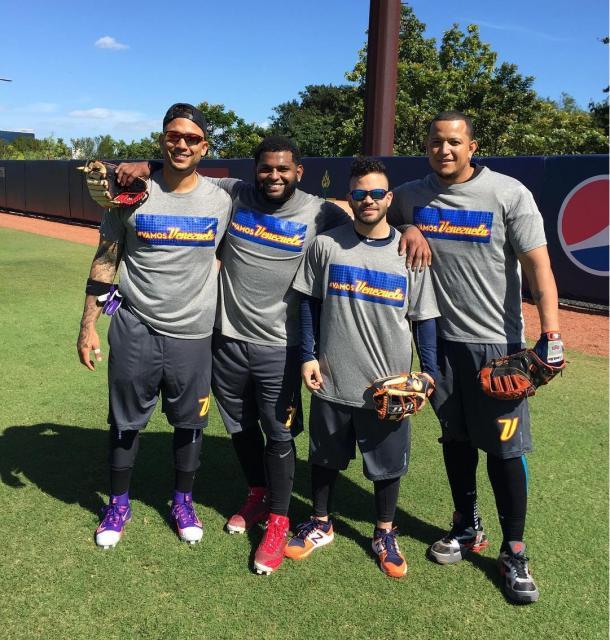 González, Sandoval, Altuve y Cabrera en la lista | Foto: Instagram
