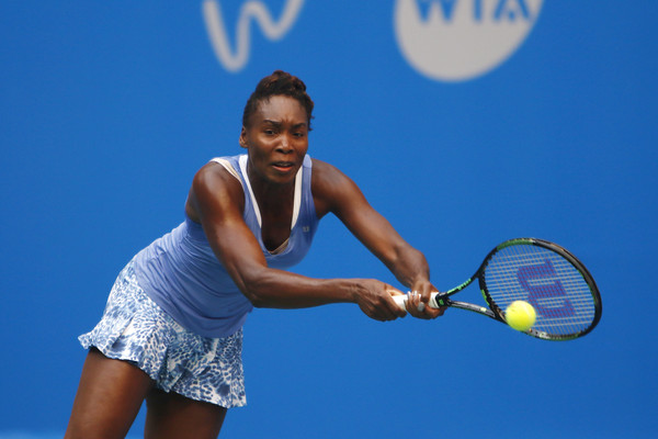Venus Williams in action en route to her triumph in 2015 | Photo: Kevin Lee/Getty Images AsiaPac