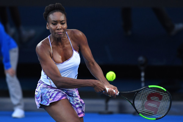 Venus Williams in action during the 2017 Australian Open final, against her sister Serena Williams   Photo: Quinn Rooney/Getty Images AsiaPac