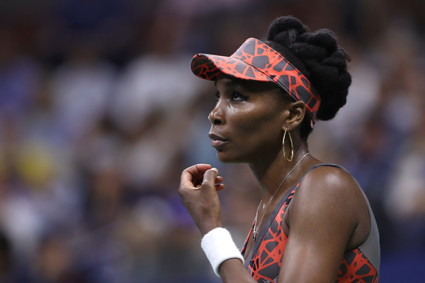 Venus Williams had a great escape in the latter stages of the final set | Photo: Matthew Stockman/Getty Images North America