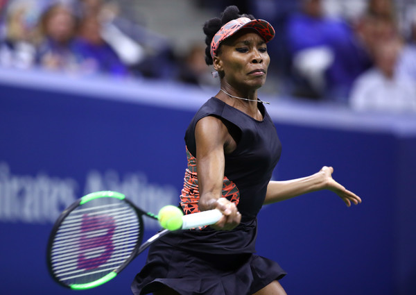 Venus Williams is wearing a different version of her night kit today | Photo: Clive Brunskill/Getty Images North America