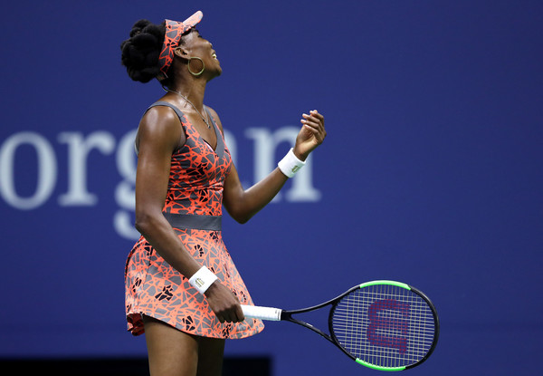 Venus Williams had nothing going right for her on break points | Photo: Elsa/Getty Images North America