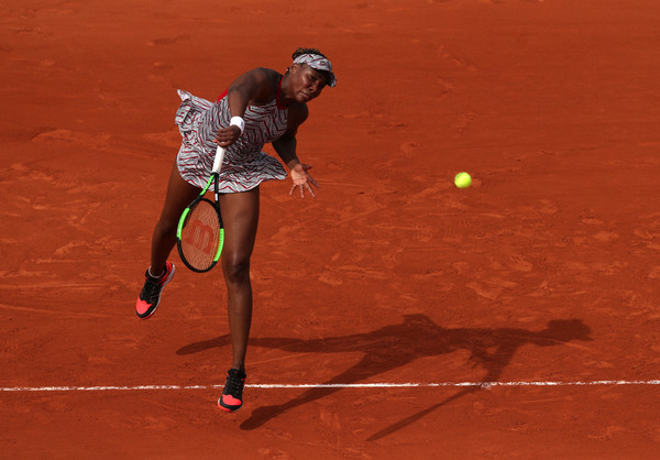 Venus Williams was handed a second consecutive first-round exit at Grand Slams | Photo: Matthew Stockman/Getty Images Europe