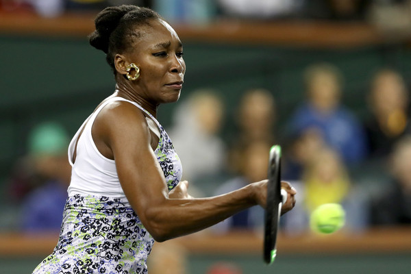 Venus Williams' forehands were incredible today | Photo: Matthew Stockman/Getty Images North America