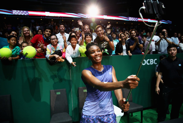 Venus Williams was an obvious crowd favourite at the WTA Finals in Singapore | Photo: Clive Brunskill/Getty Images AsiaPac