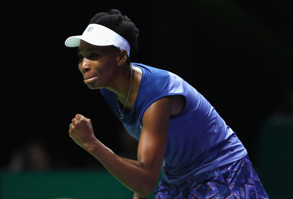 Venus Williams celebrates her win | Photo: Clive Brunskill/Getty Images AsiaPac