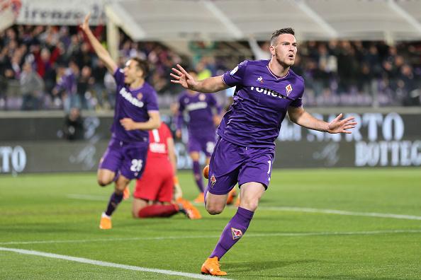 Veretout marcou três vezes, mas Lazio venceu no fim (Foto: Gabriele Maltinti/Getty Images)
