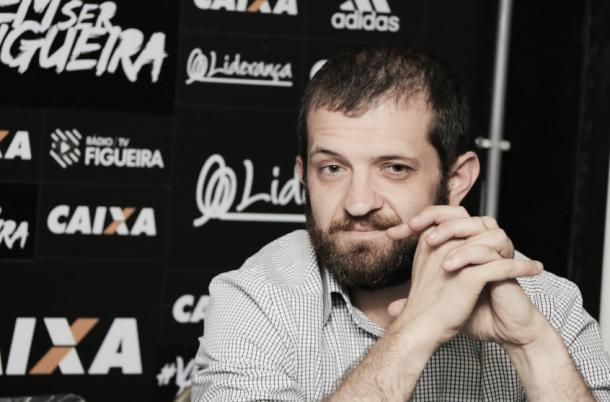 Vernalha deixa a presidência do Figueirense após pouco mais de um ano (Foto: Divulgação/Figueirense FC)