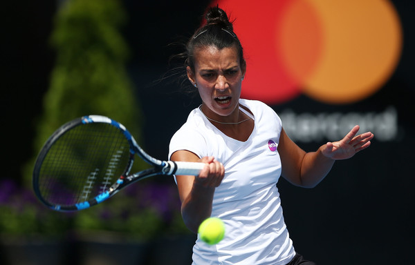 Cepede Royg in action at the Hobart International this year | Photo: Mark Metcalfe/Getty Images AsiaPac