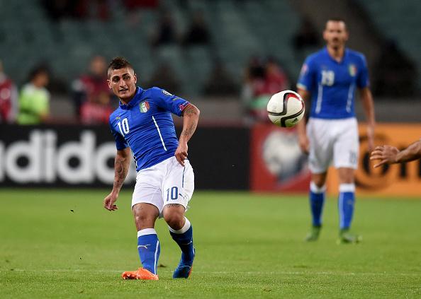 Marco Verrati no llegó a tiempo para la Eurocopa. // Foto: Getty Images