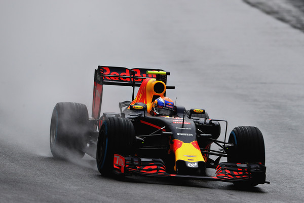 Verstappen deu show e chegou em terceiro (Foto: Mark Thompson/Getty Images)