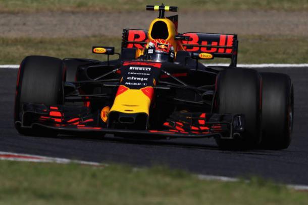 Verstappen fez mais uma grande corrida e foi o segundo (Foto: Clive Mason/Getty Images)