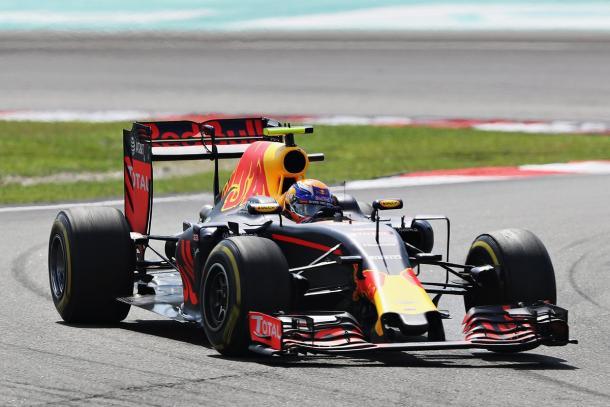Max Verstappen completou a dobradinha da Red Bull (Foto: Divulgação/Red Bull Racing)