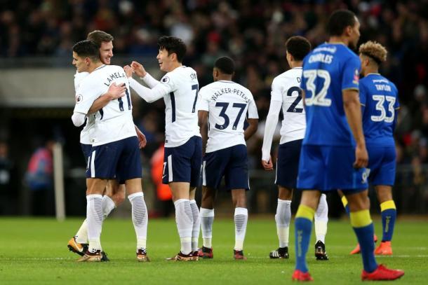 Vertonghen fue el autor del tercer gol   Fotografía: Tottenham