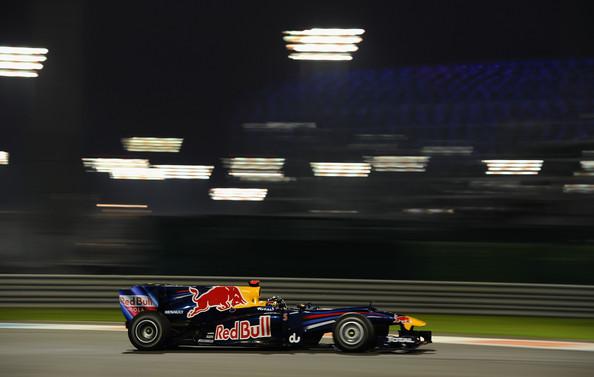 Após a parada final, Vettel disparou na frente e não largou o campeonato (Foto: Clive Mason/Getty Images)