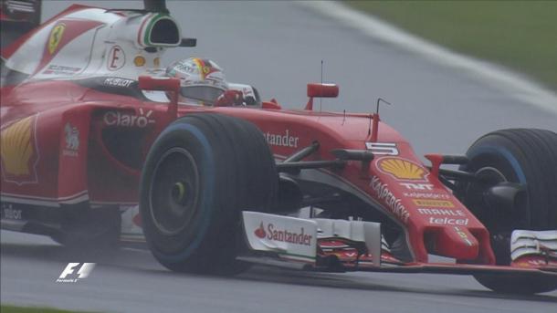 Vettel rodou no começo, mas ainda assim foi quinto (Foto: Divulgação/F1)