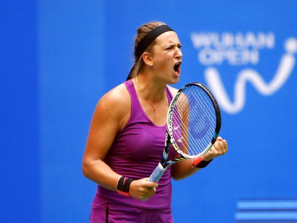 Victoria Azarenka during her last appearance here in Wuhan | Photo: Kevin Lee/Getty Images AsiaPac