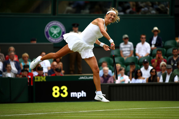 Victoria Azarenka had a slow start to the match, ultimately costing her the first set | Photo: Clive Mason/Getty Images Europe