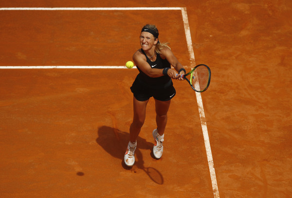 Victoria Azarenka was struggling to find her top game today | Photo: Julian Finney/Getty Images Europe
