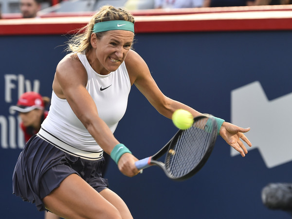 Victoria Azarenka won the first nine games of the match | Photo: Minas Panagiotakis/Getty Images North America