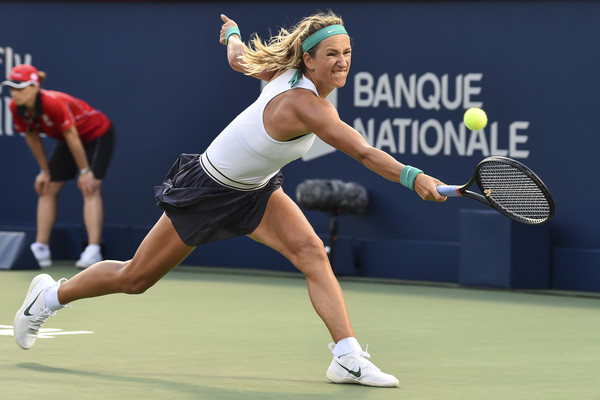 Victoria Azarenka was unable to handle Konta's power | Photo: Minas Panagiotakis/Getty Images North America