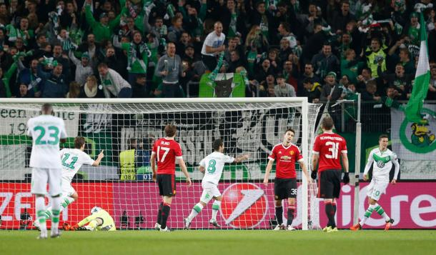 Vierinha strokes home Wolfsburg's second (photo: reuters)