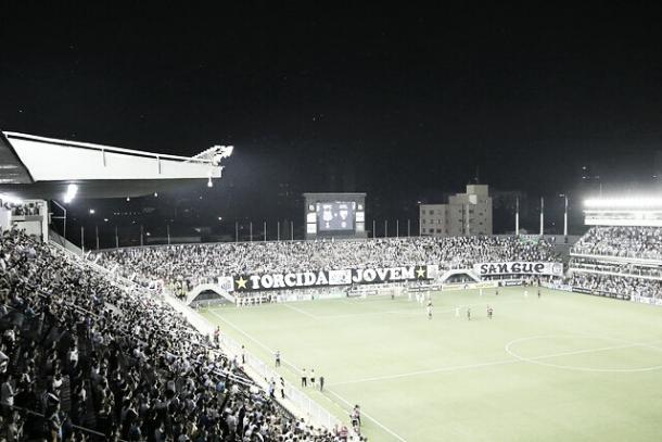 O lendário alçapão (Foto: Ivan Storti/Santos FC)