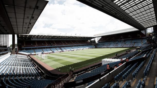 Villa Park, la casa del Aston Villa. Foto: Aston Villa.