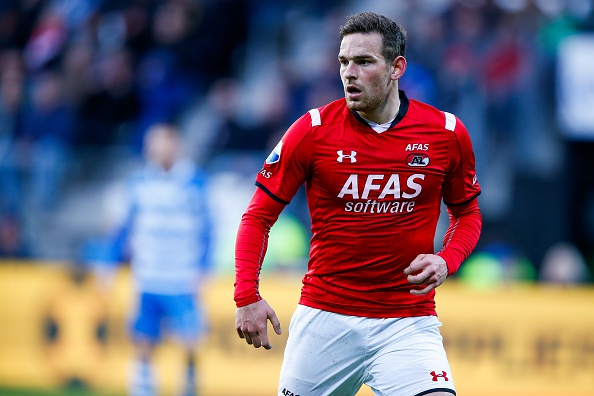 Vincent Janssen in action for AZ Alkmaar | Photo: IV-Images