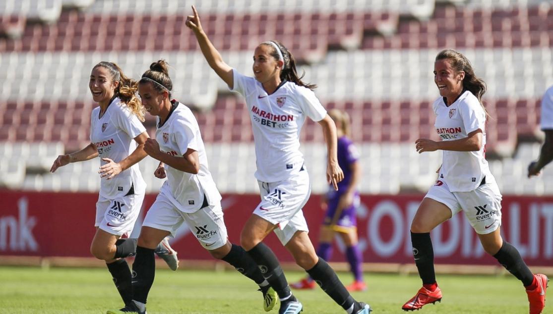 Virgy es una de las jugadoras más importantes del Sevilla FC Femenino. Foto: sevillafc.es