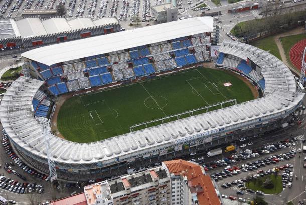 L'Estadio Balaidos di Vigo. Fonte: http://www.skyscrapercity.com