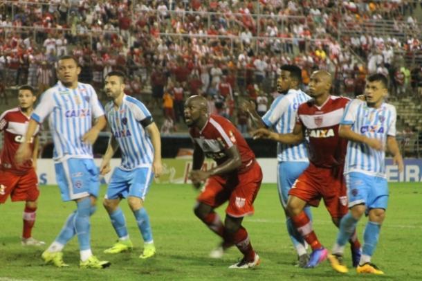 Vitória sobre Paysandu faz CRB manter time titular para encarar o Timbu (Foto: Douglas Araújo/CRB)
