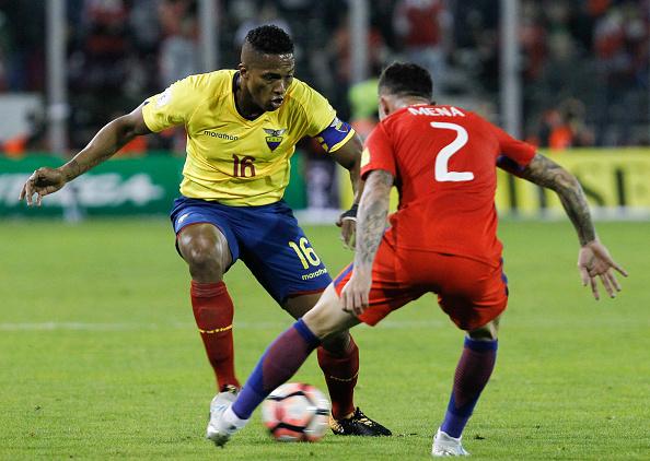 Titular contra o Equador e reserva em jogo com Brasil, Mena pode atuar diante do Leão da Barra (Foto: Alex Reyes/Getty Images)