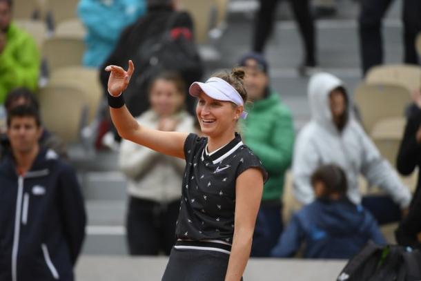 Tcheca não perdeu nenhum set em Paris (Foto: Divulgação/Roland Garros)