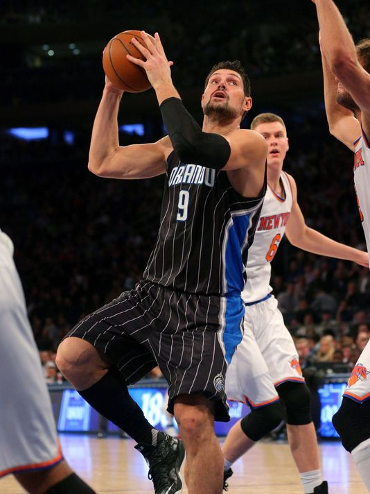 Nikola Vucevic is a far better scorer than defender (Photo: Brad Penner, USA Today Sports)