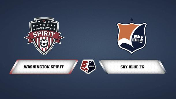 Both Washington and Sky Blue will be desperate for a win on Saturday (photo via NWSL on Youtube)