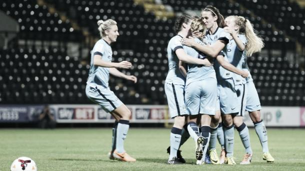 Runner up of the FA WSL last season, Manchester City will be a team to compete in the UWCL for the first time. (Photo: mcfc.co.uk)