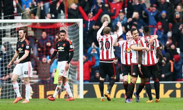 Los jugadores del Sunderland celebran el triunfo | Foto: The Guardian