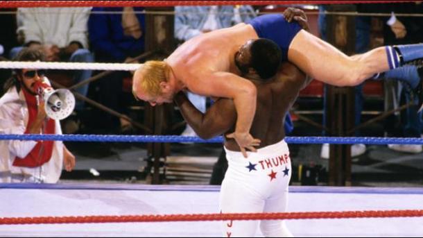 The Thump! Credit: WWE