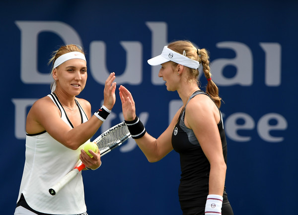 Ekaterina Makarova and Elena Vesnina would look to win their first title of 2017 | Photo: Tom Dulat/Getty Images Europe