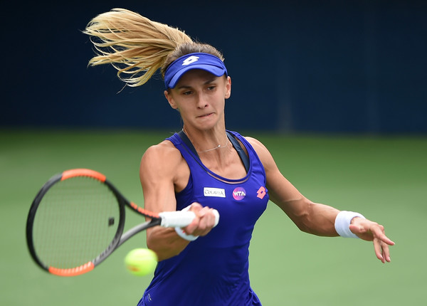 Lesia Tsurenko was outclassed in every aspect today   Photo: Tom Dulat/Getty Images Europe