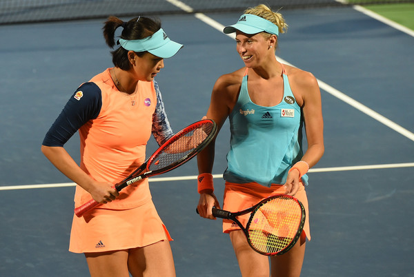 Andrea Hlavackova and Peng Shuai had an excellent start to 2017 | Photo: Tom Dulat/Getty Images Europe