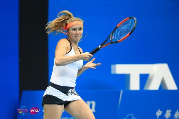 Elina Svitolina looks to make a push into the Top 10 | Photo: WTA Taiwan Open