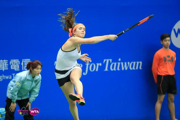 Elina Svitolina saved four match points against Ons Jabeur in the quarterfinals on her way to the title | Photo: WTA Taiwan Open