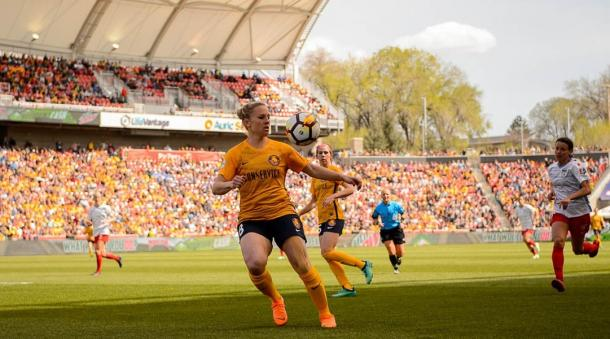 Amy Rodriguez is expected to keep the goals coming for Utah | Source: Trent Nelson-The Salt Lake Tribune