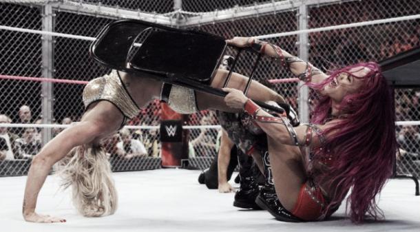 Brie said that the Women's Hell in a Cell match was an incredible moment (image:thecomeback.com)
