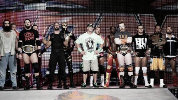The WWE locker room was said to be shocked at the release of Sandow (image: wrestlingrumors.net)