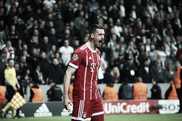el primero: Sandro Wagner y su inicio goleador en Champions | fuente: @FCBayern